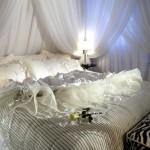 Chambre à coucher romantique pour la Saint Valentin - 1