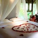 Chambre à coucher romantique pour la Saint Valentin - 6