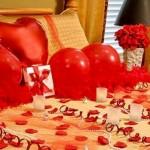 Chambre à coucher romantique pour la Saint Valentin - 8