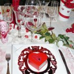 Décoration de tables pour la Saint Valentin - 3