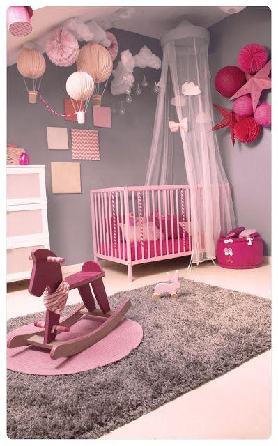 Belles Chambres Bébé Fille - 1 | Déco