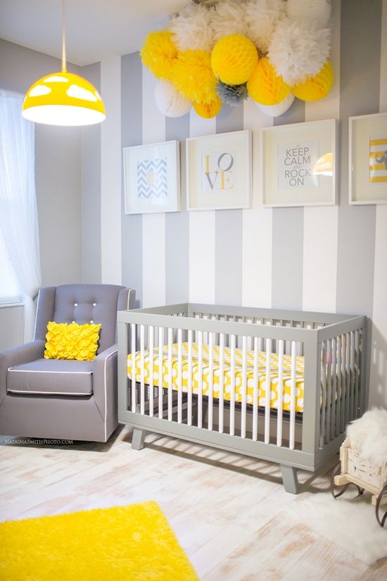 Awesome Chambre Bebe Jaune Et Grise 2 Contemporary