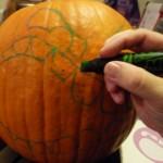 Comment faire une Citrouille Halloween - 1