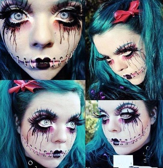 Maquillage Halloween 2016 - 5