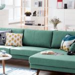 Modèles design du canapé d'angle