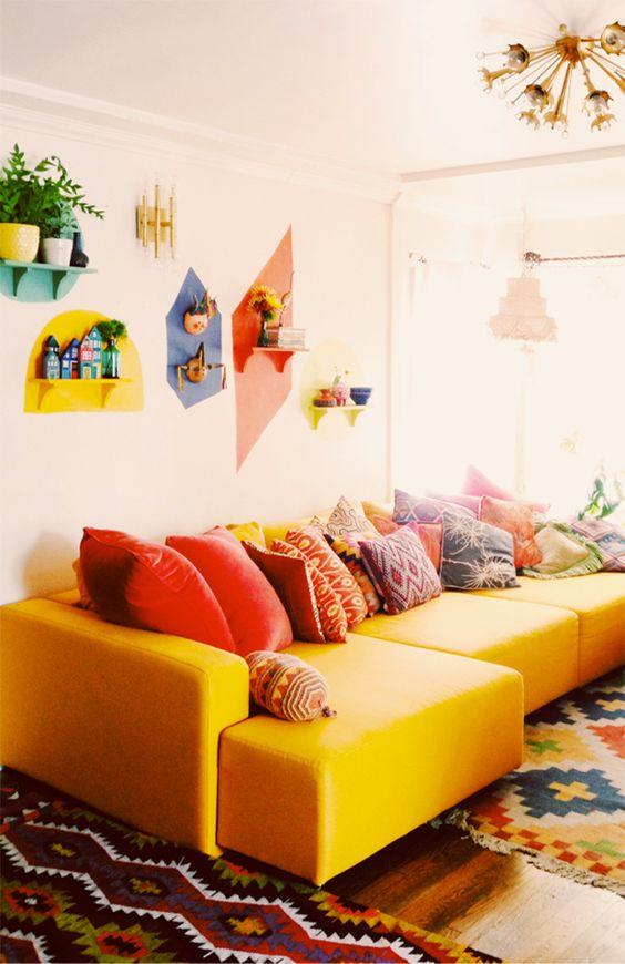 Canapé design 2017 couleurs vives - 8