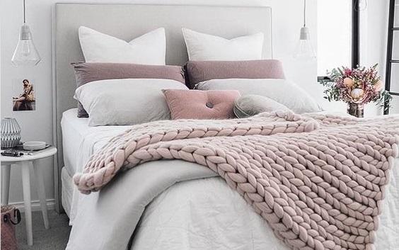 Chambre coucher hiver 2017 d co for Deco chambre a coucher 2017