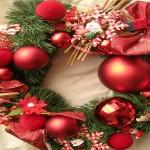 Couronne de Noël Fait maison