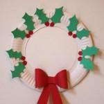 Couronne de Noël Originale DIY - Méthode 4