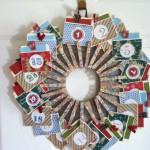 Couronne de Noël Originale DIY - Méthode 8