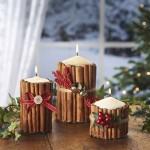 Décoration Bougies Noël 2017 - 3