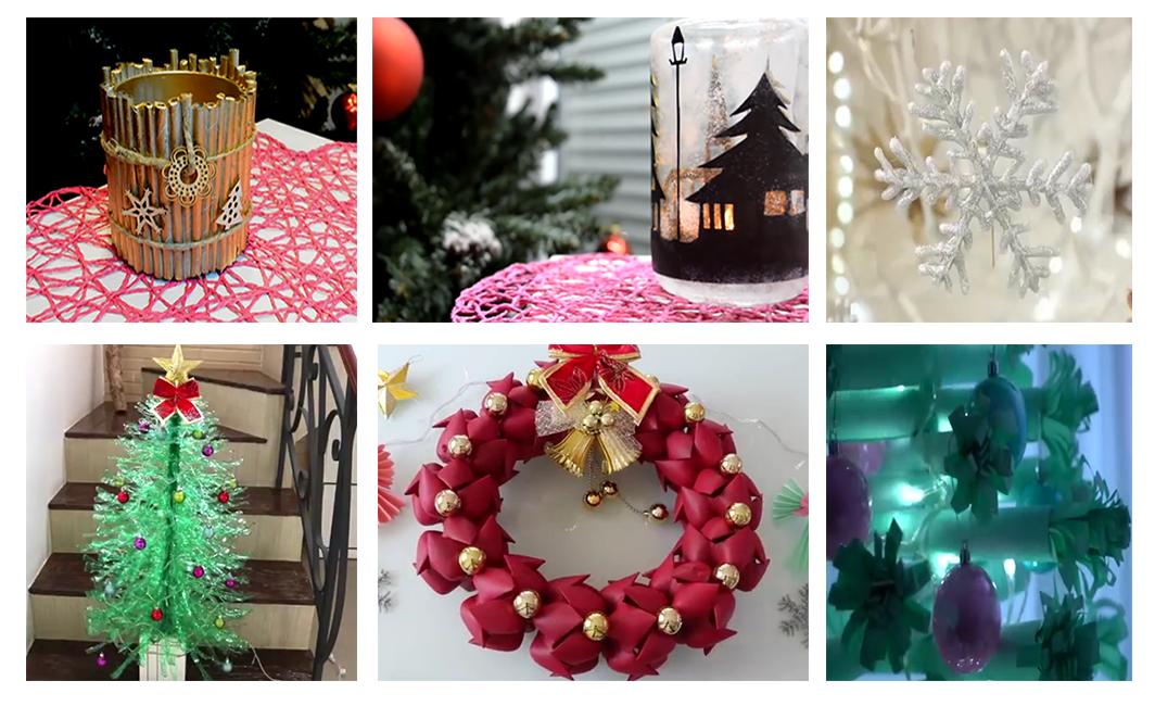 Christmas DIY - 20 Idées de déco de Noël à ne pas rater