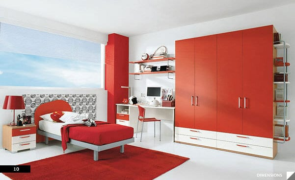 Awesome Chambre Bebe Rouge Et Blanc Pictures - Design Trends 2017 ...
