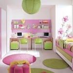 Chambre Fillette Rose