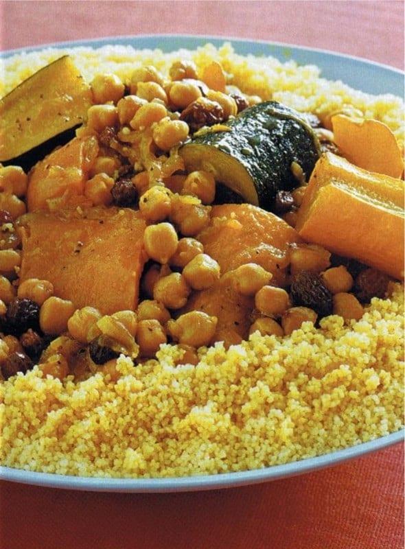 Préparation du Couscous Marocain