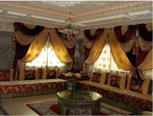 Salon traditionnel marocain - Les salons traditionnels marocains ...
