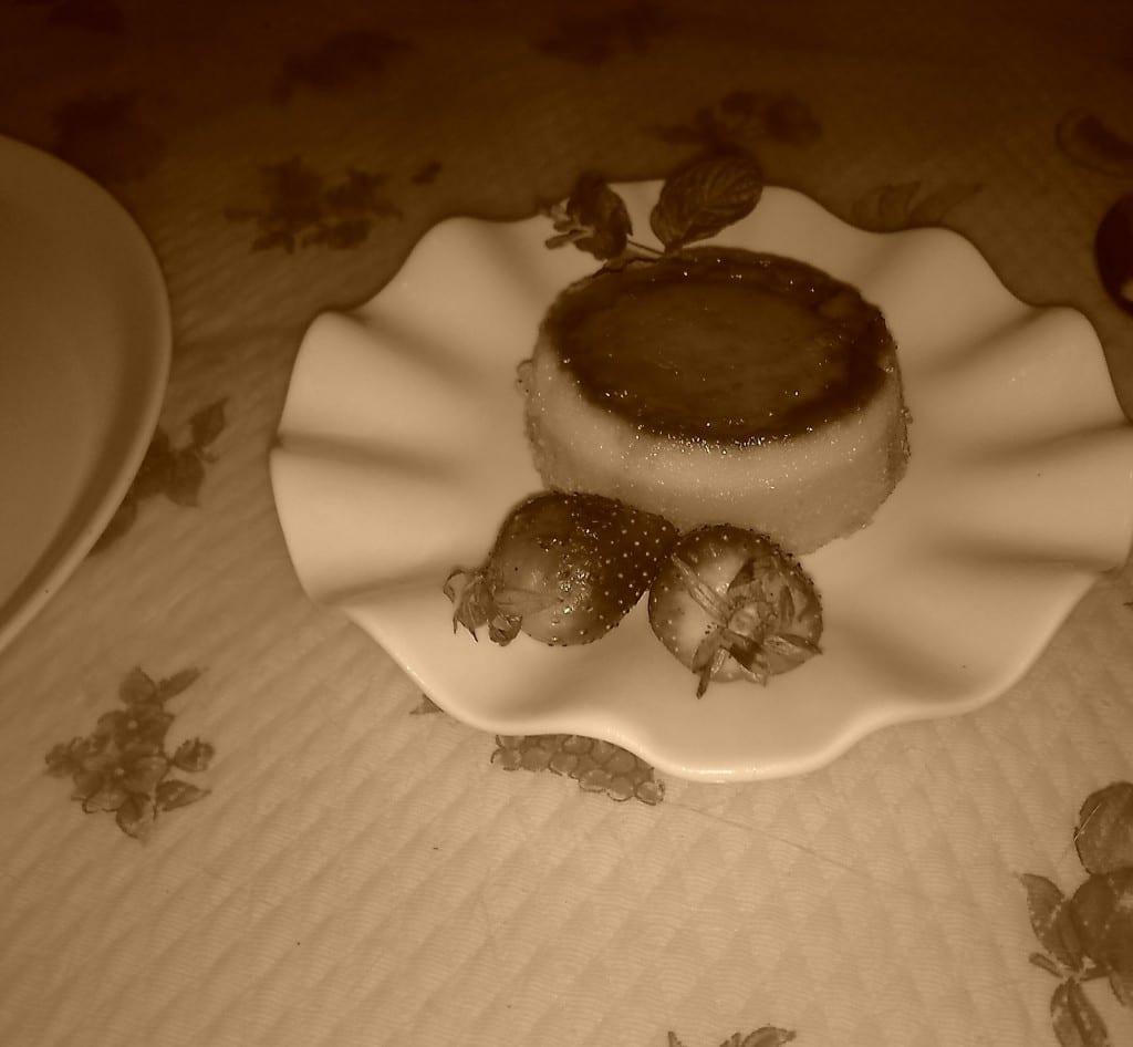 Tarte à la Crème caramel