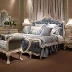 Chambre à coucher Blan-Blanc cassé