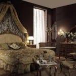 Chambre à coucher Doré - Meuble en bois