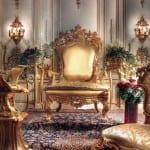 Fauteuil Royal Doré