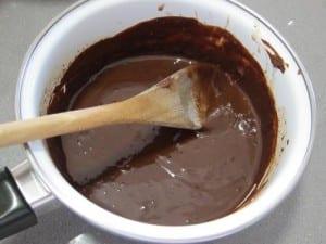 Préparation du Brownie Cake