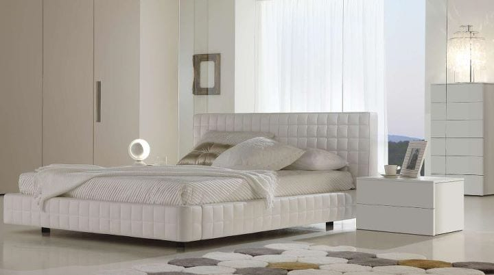 chambre coucher blanc. Black Bedroom Furniture Sets. Home Design Ideas