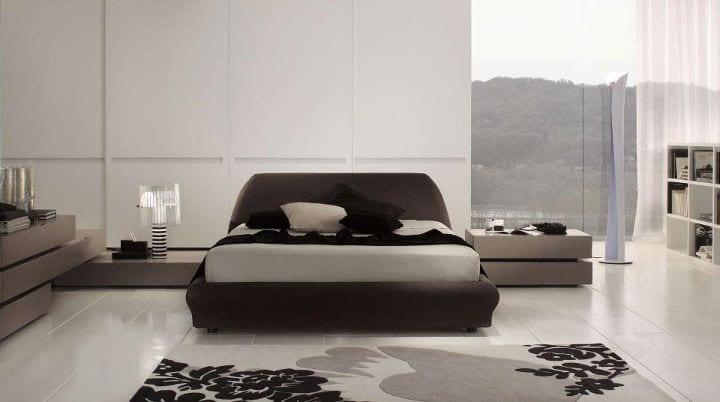 Chambre à coucher Gris degradé
