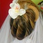 Chevelure mariée 11