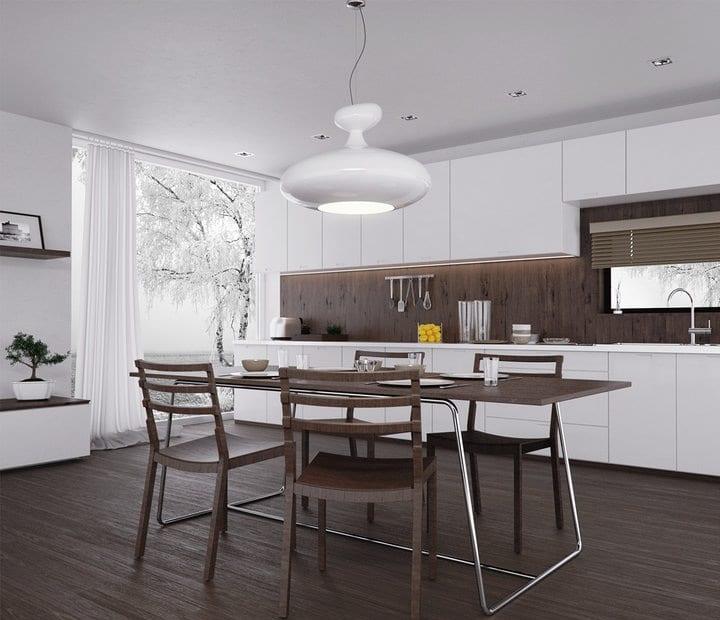 Décoration d'intérieur: La Collection Cuisines - Cuisine Blanc-Beige