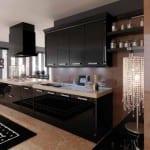 Décoration d'intérieur: La Collection Cuisines - Cuisine Noir