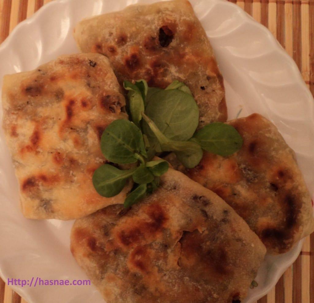 Cuisine marocaine: Rghayef Farcies à la Viande et aux Carottes