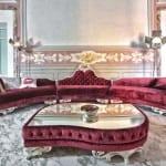 Salon de luxe Mauve