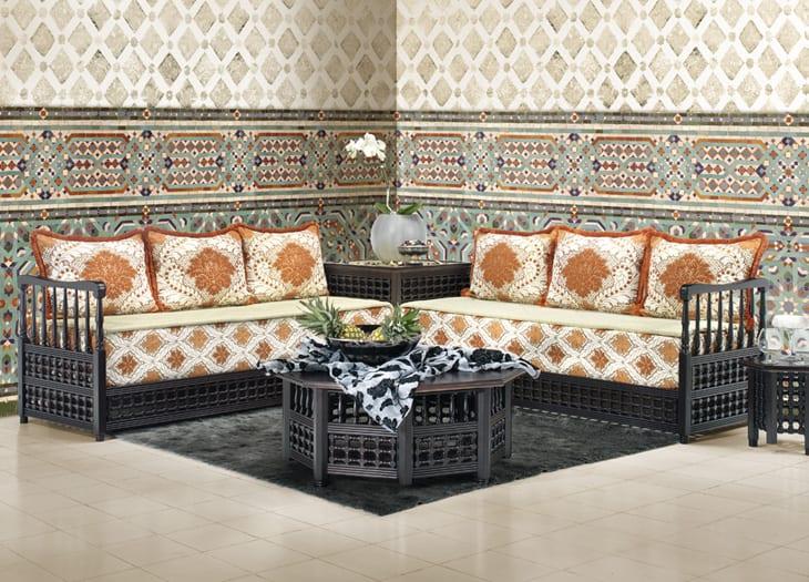 9 is pixels salon marocain blanc cass chameau gris 2 salon marocain - Salon Marocain Peinture Gris