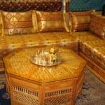 Salon marocain Jaune