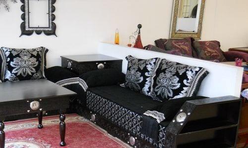 Salon Marocain Noir Avec Strass : Davaus salon moderne pas cher en algerie avec des