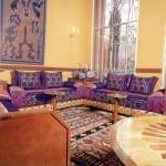 Salon marocain Rose-Mauve