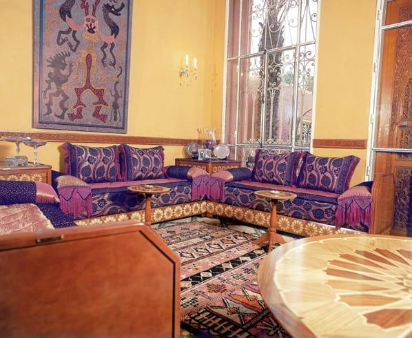 Salon Marocain 2015 Mauve : Salon marocain rose mauve