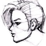 Tête profil_