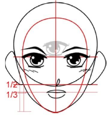 Dessin Manga: pas à pas (leçon 4)