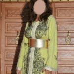 Caftan Marocain Jaune