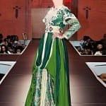 Caftan Marocain Vert Degradé