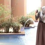 ستايلات الحجاب 1