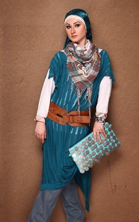 تشكيلة جديدة من ملابس للمحجبات