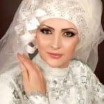 ربطات حجاب للعرائس 5
