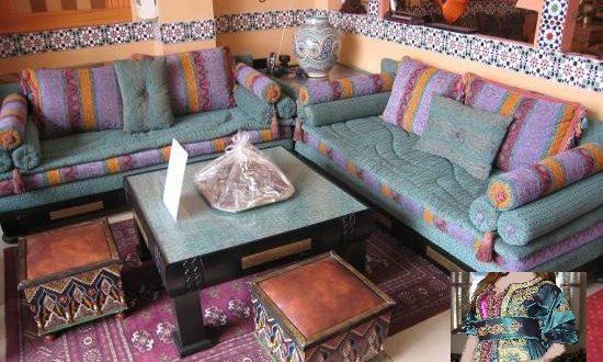 Salons Marocains Traditionnels en Harmonie avec vos Caftans ...
