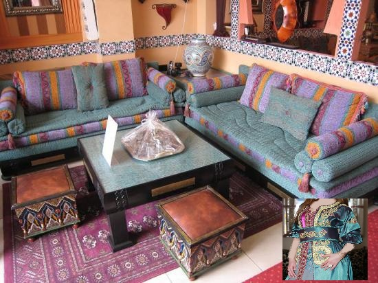 Salon Marocain Jaune Et Bleu - onestopcolorado.com -
