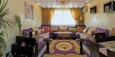 Salon marocain design 10 for Salle a manger kitea rabat