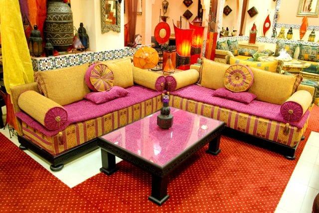 مجموعة من التصاميم الجديدة للصالونات المغربية