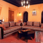 Salon Marocain Gris-Acajou