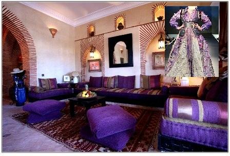 Salons Marocains Traditionnels en Harmonie avec vos Caftans 2 - 1